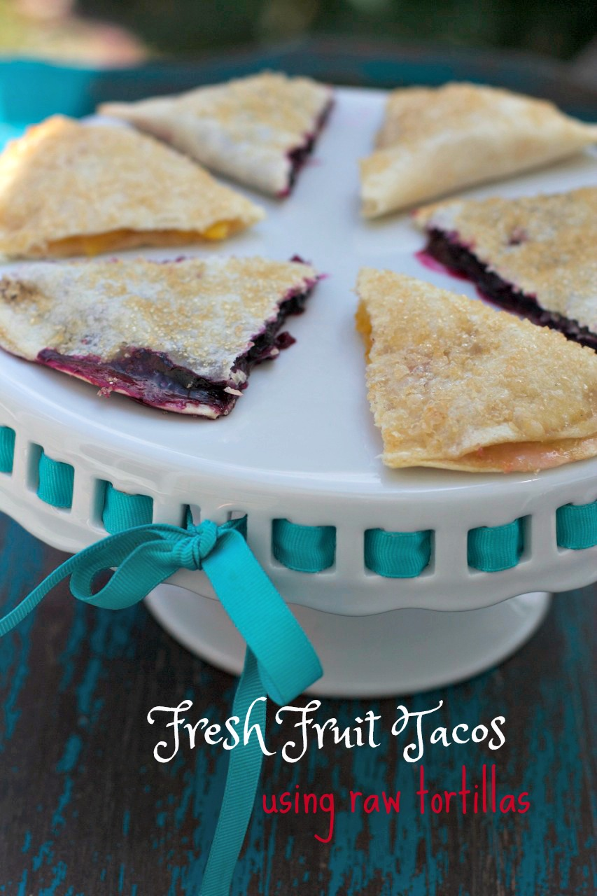 How to Make Tortilla Fruit Hand PIes