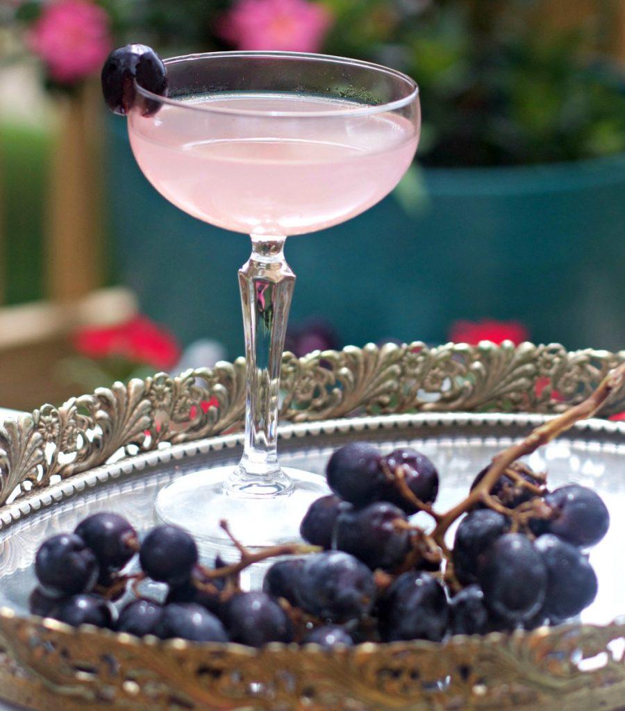 Wedding Cocktail Elderflower Gin Cocktail by Spinach Tiger