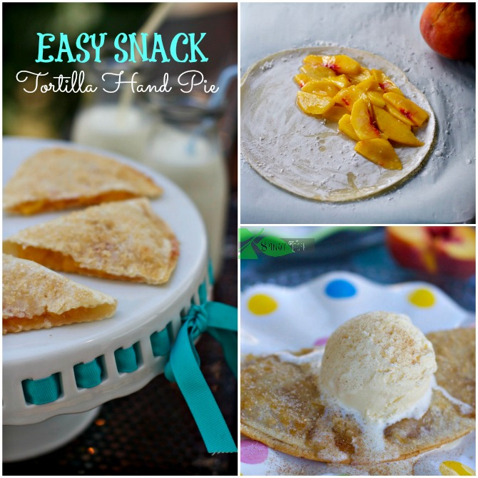 tortilla peach hand pies by Spinach Tiger