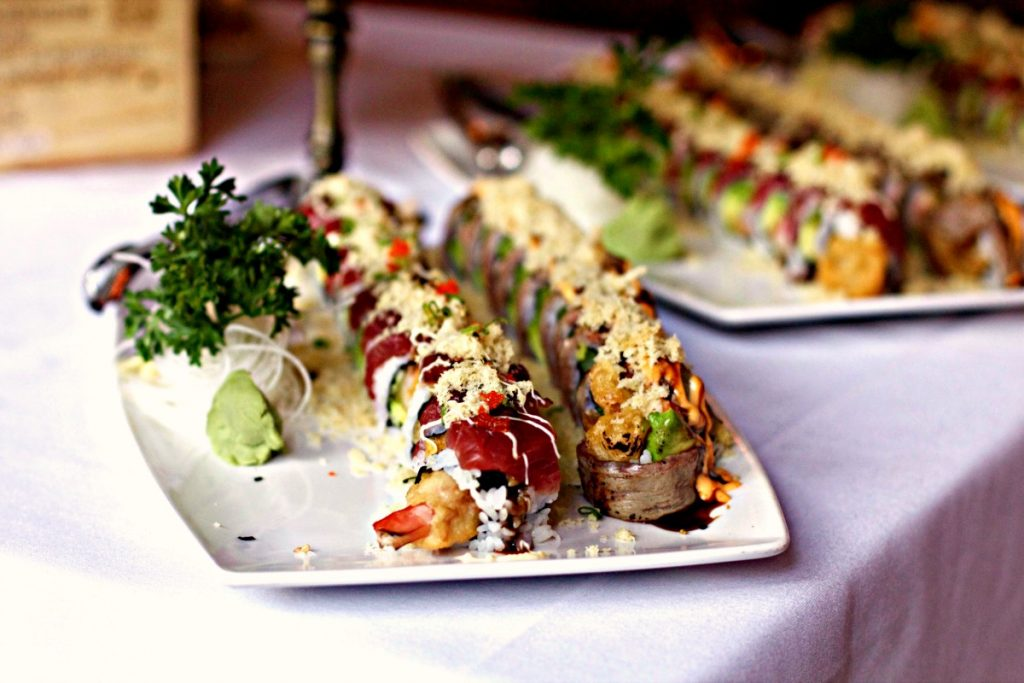 Jeff Ruby's Sushi by Spinach Tiger