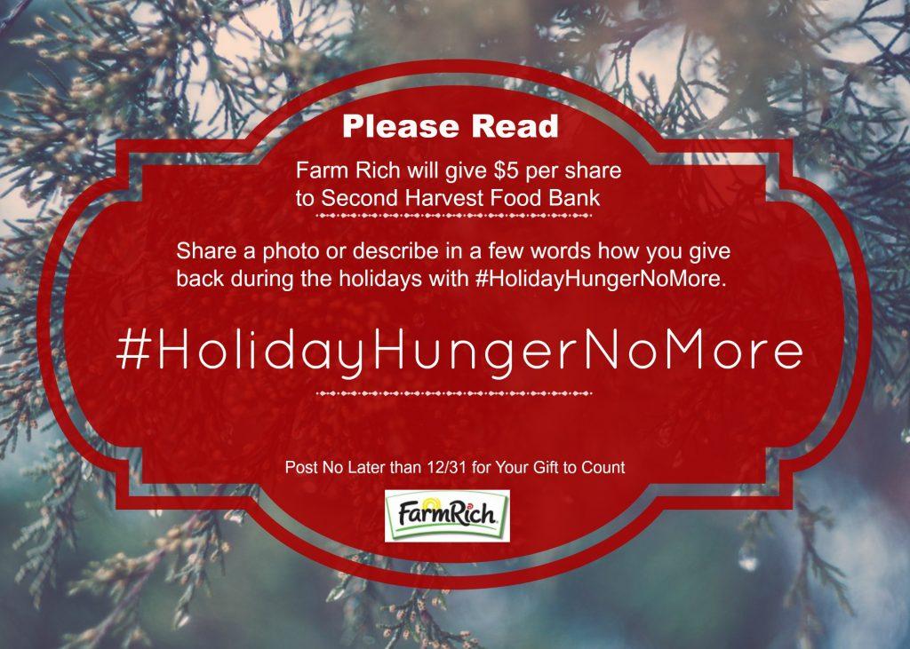 Holiday Hunger No More