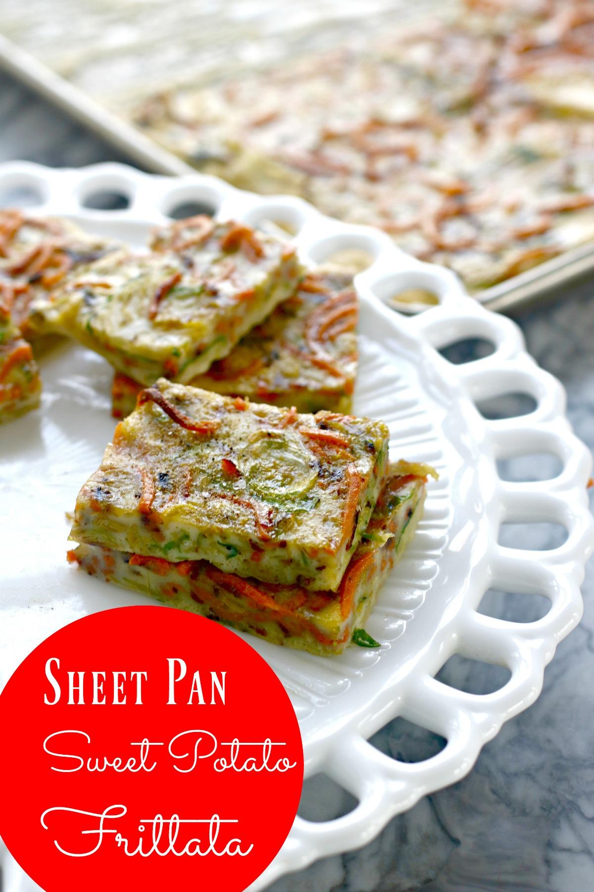 Vegetarian Frittata Recipe: A Sheetpan Frittata from Spinach TIger