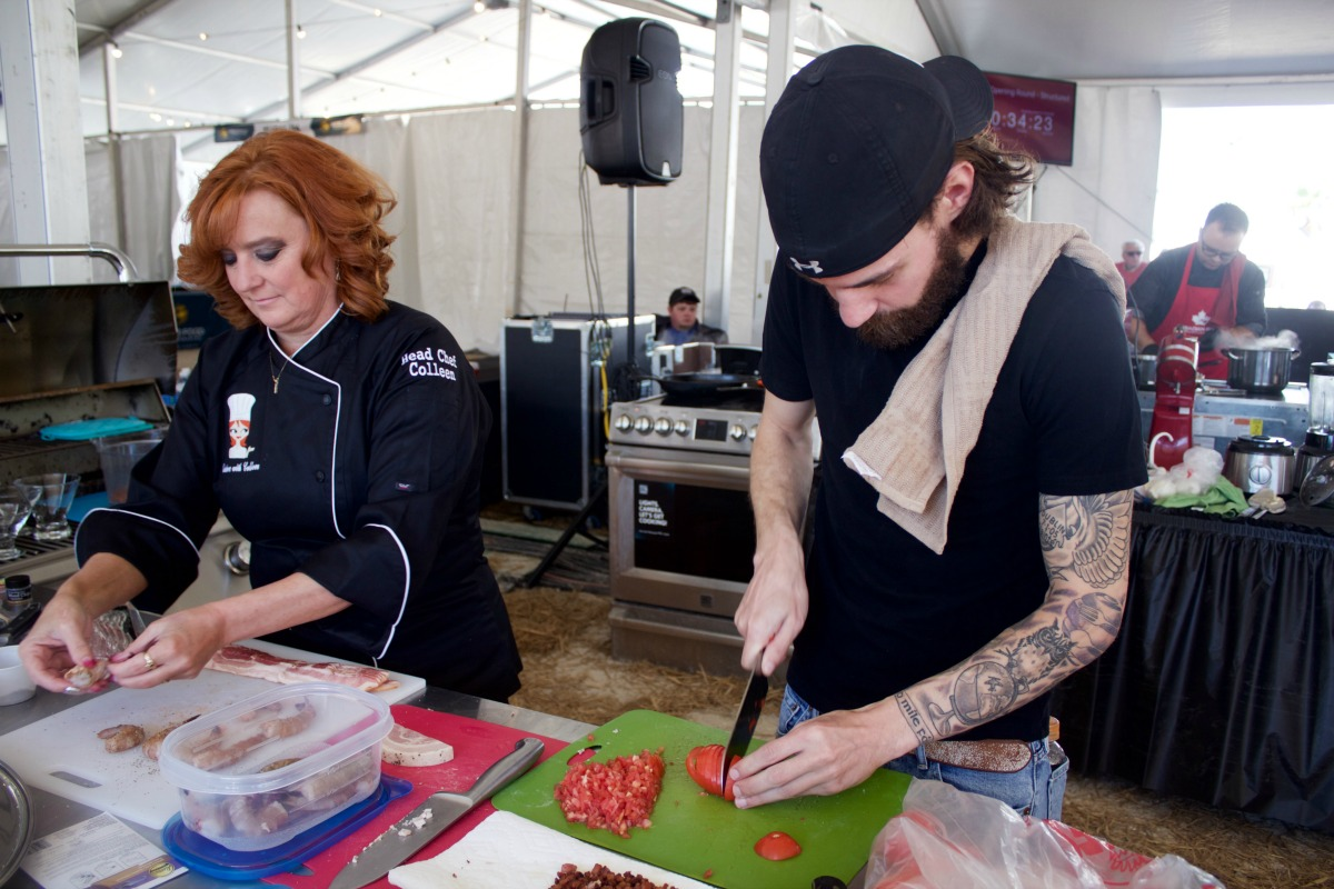 Behind the scenes at the World Food Championships  from Spinach TIger