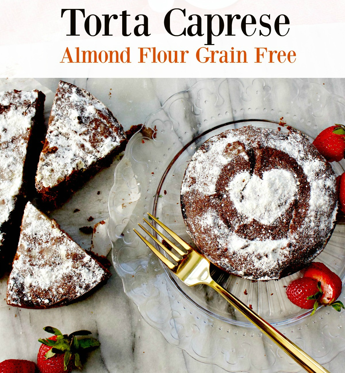 How to Make Torta Caprese, Chocolate Almond Flour Cake, Gluten Free from Spinach Tiger
