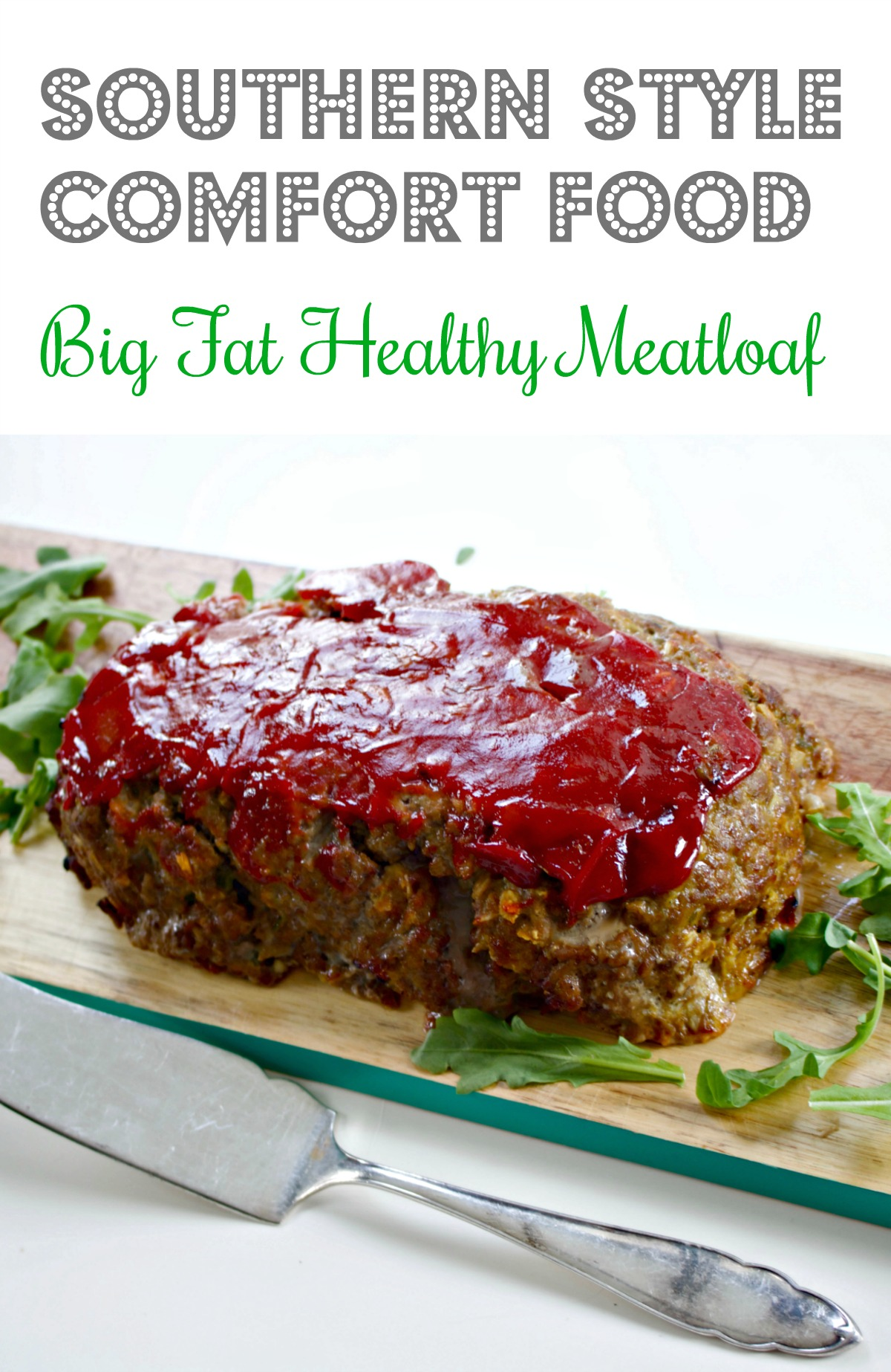 Southern Meatloaf from Spinach Tiger