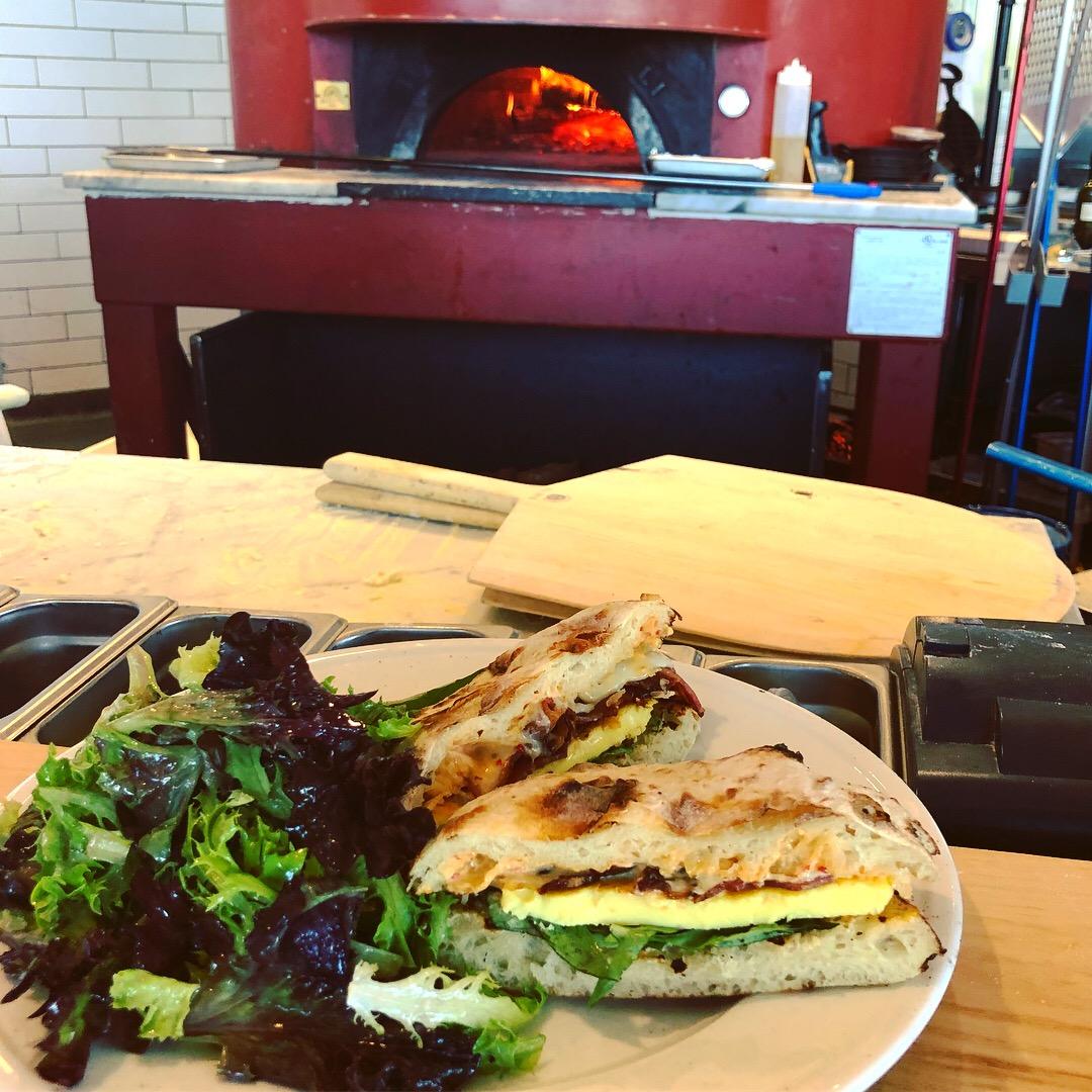 Egg Sandwiche Pastaria Nashville Brunch
