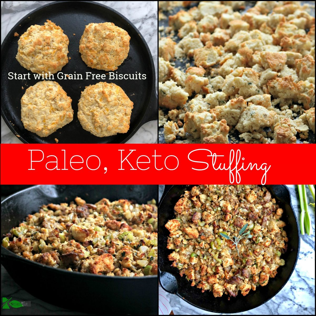 Grain Free Biscuits for Grain Free stuffing