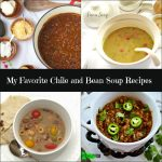 My Favorite Chili & Bean Soup Recipe from Spinach TIger