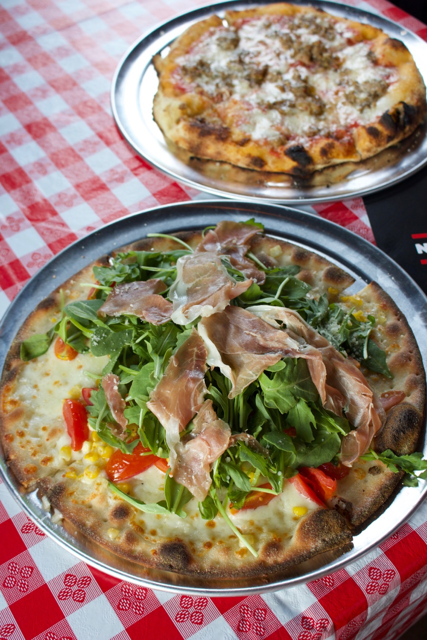 Crushing on Nashville PIzza: Night Train Pizza from Spinach Tiger