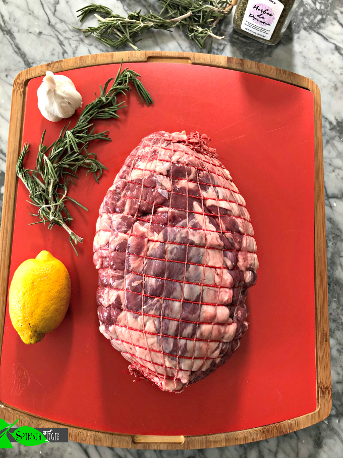 Leg of Lamb, How to Cook Roast Lamb from Spinach TIger