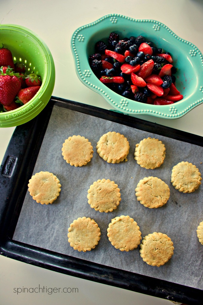 Grain Free Shortcake Biscuits for Strawberry Shortcake From Spinach Tige