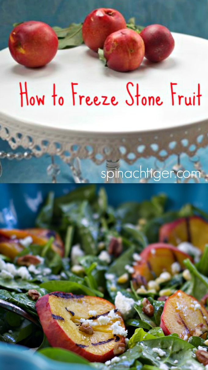 How to Freeze Peaches and My Best Peach Recipes from Spinach Tiger