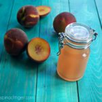 How to Make Peach Simple Syrup