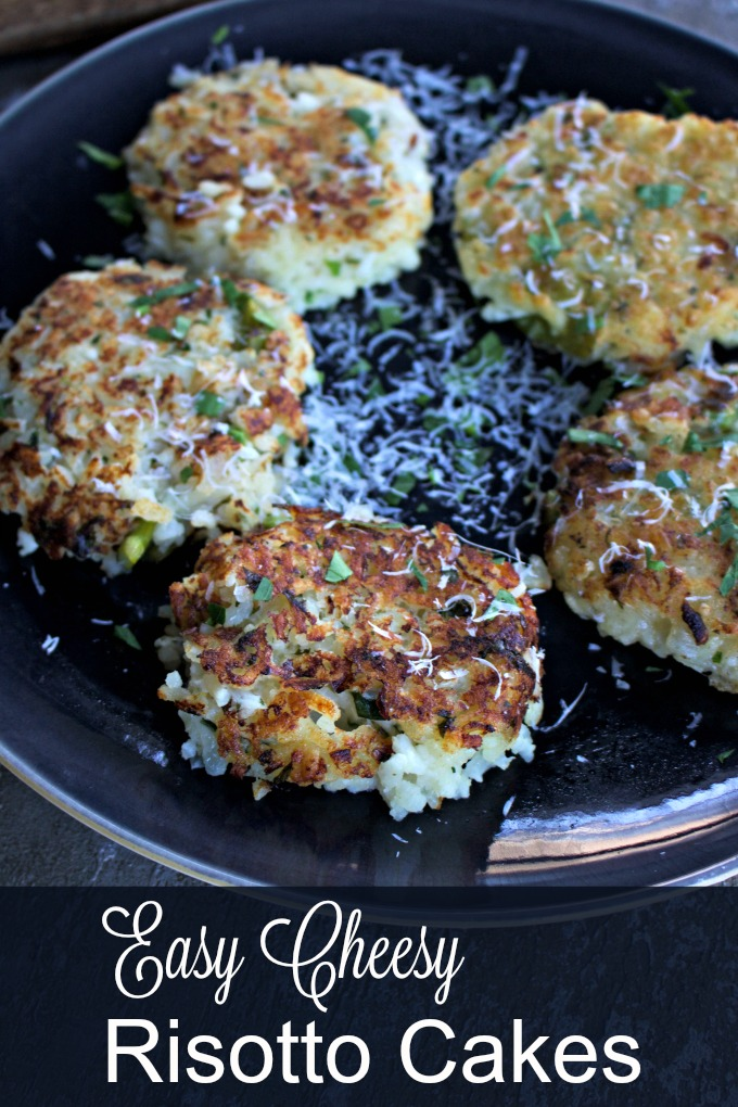 How to Make Italian Risotto Cakes from Spinach Tiger #risottocakes