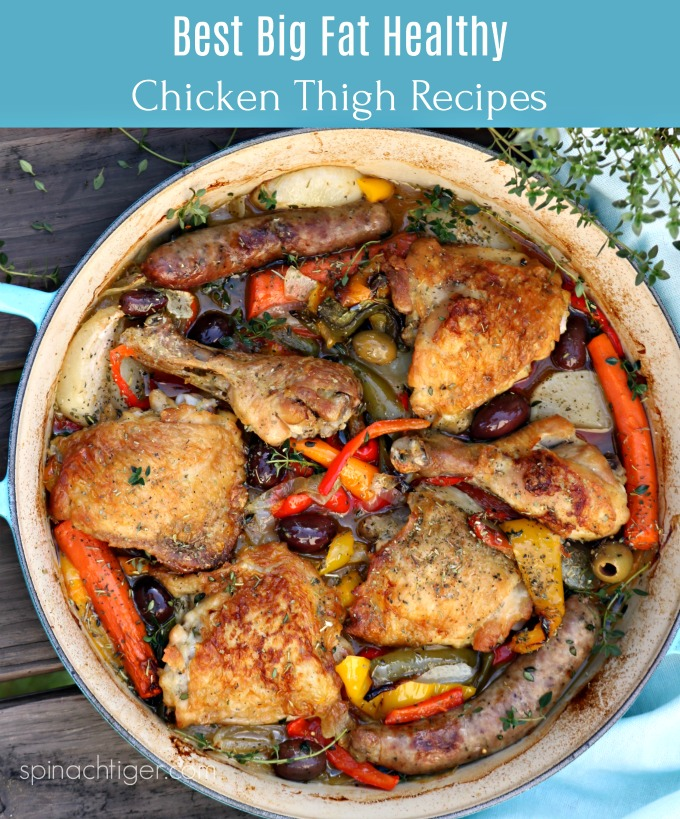 Recipes for Chicken Thighs from Spinach Tiger #chicken #thighs #recipes
