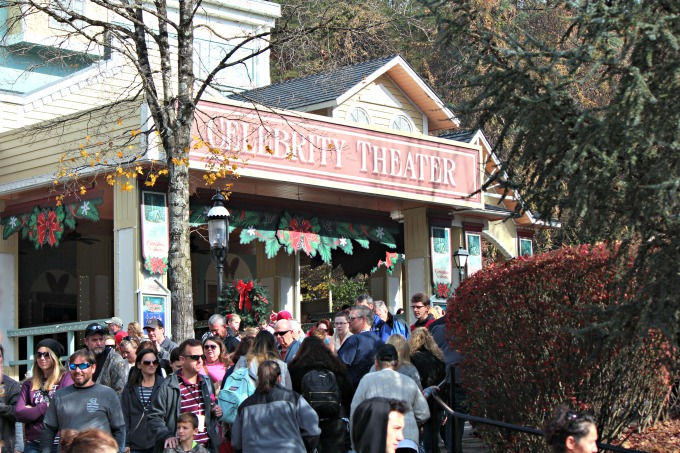 Shows and Christmas at Dollywood from Spinach Tiger