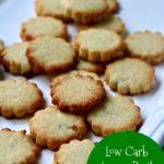 Low Carb Lemon Basil Shortbread