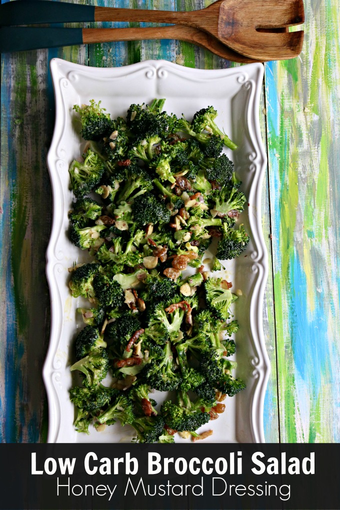Bacon and Broccoli Salad from #spinachtiger #bacon #broccoli #rawsalad #broccolisalad