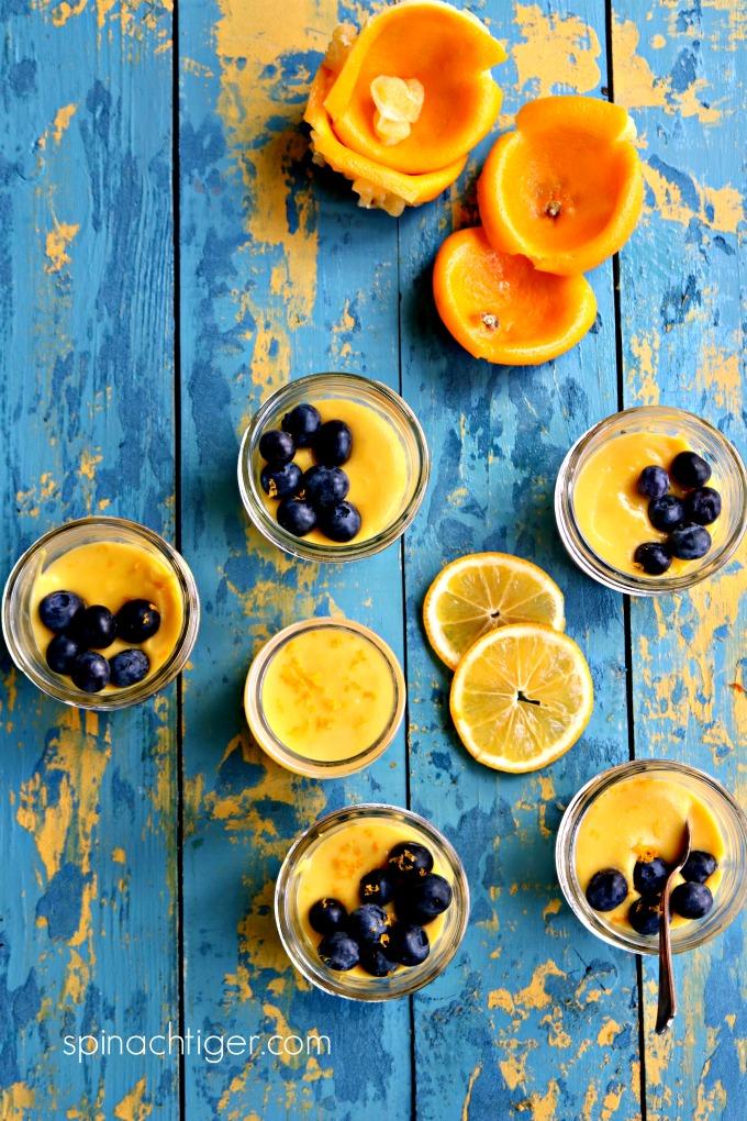 Keto Meyer Lemon Curd from Spinach TIger