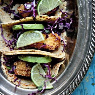 Pork Panko Fish Tacos