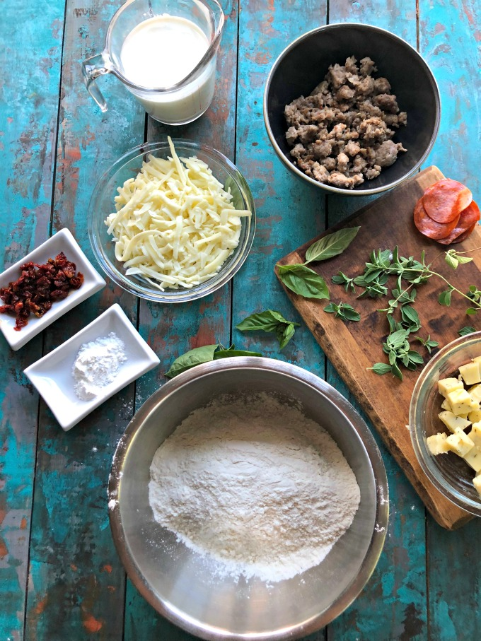 Italian Biscuit Ingredients