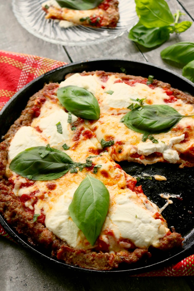 Low Carb Pizza for Low Carb Dinner Recipes