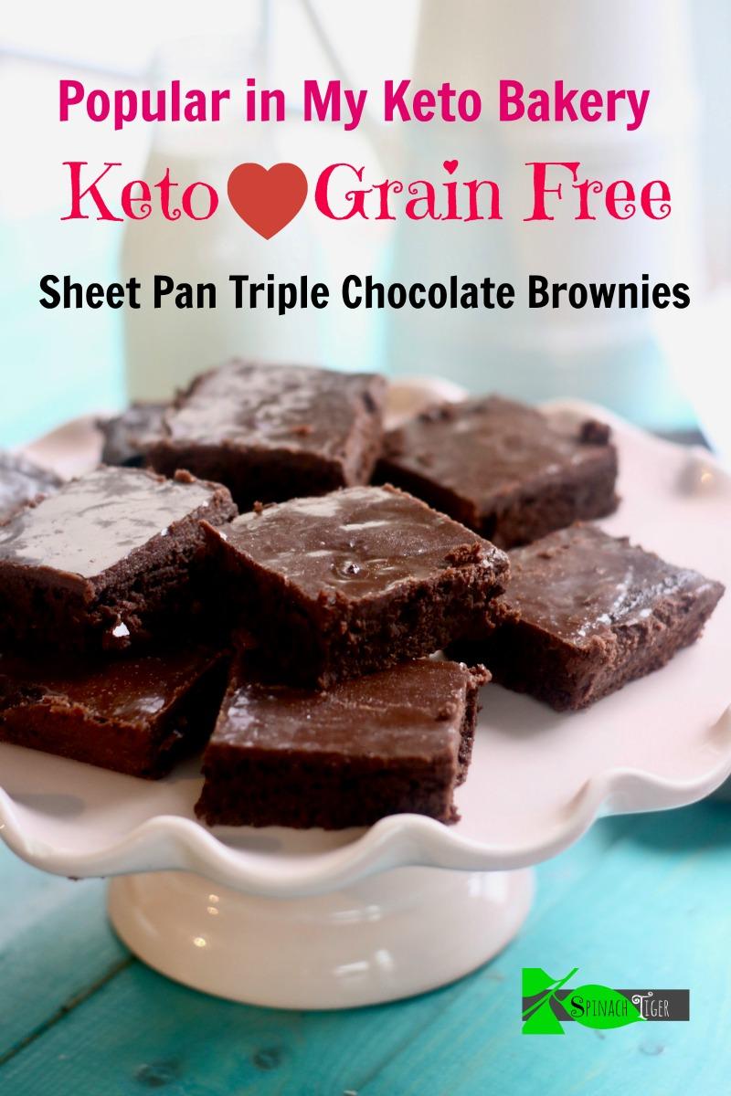 Keto sheet Pan Brownies