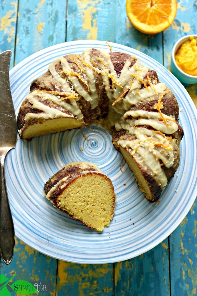Orange Bundt Cake with Orange Butter