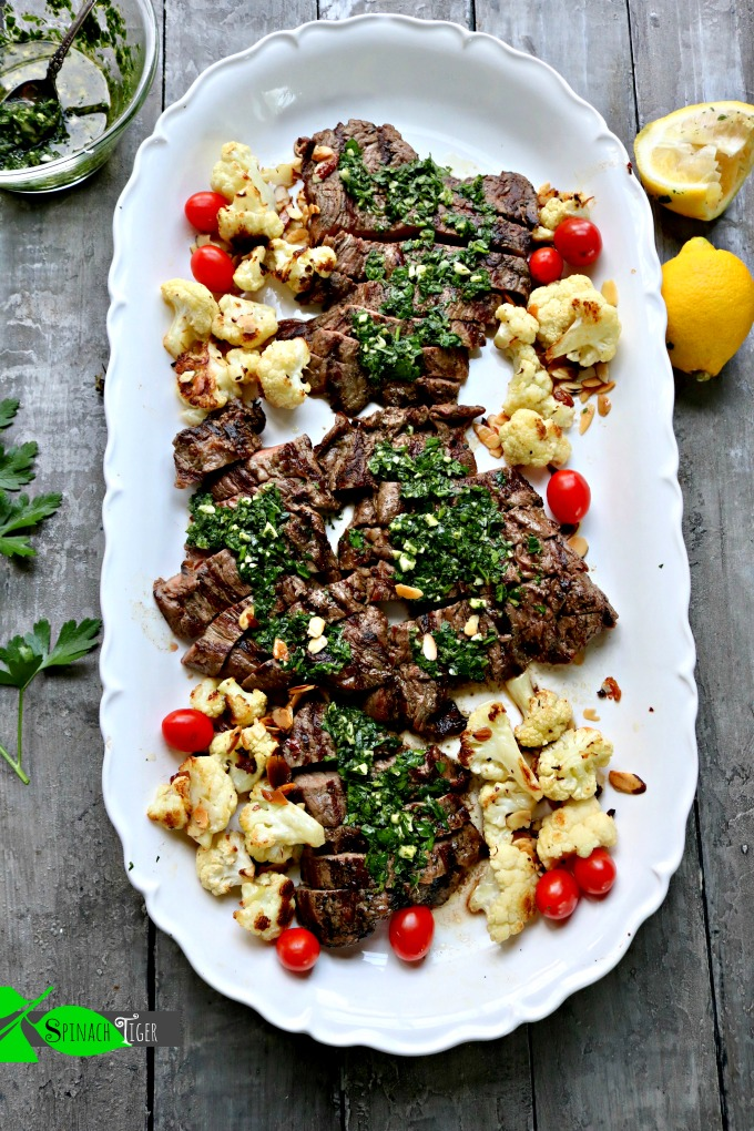 How to Grill Skirt Steak with Chimichurri