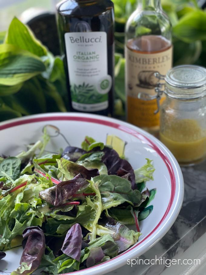 Champagne Vinaigrette Salad Greens