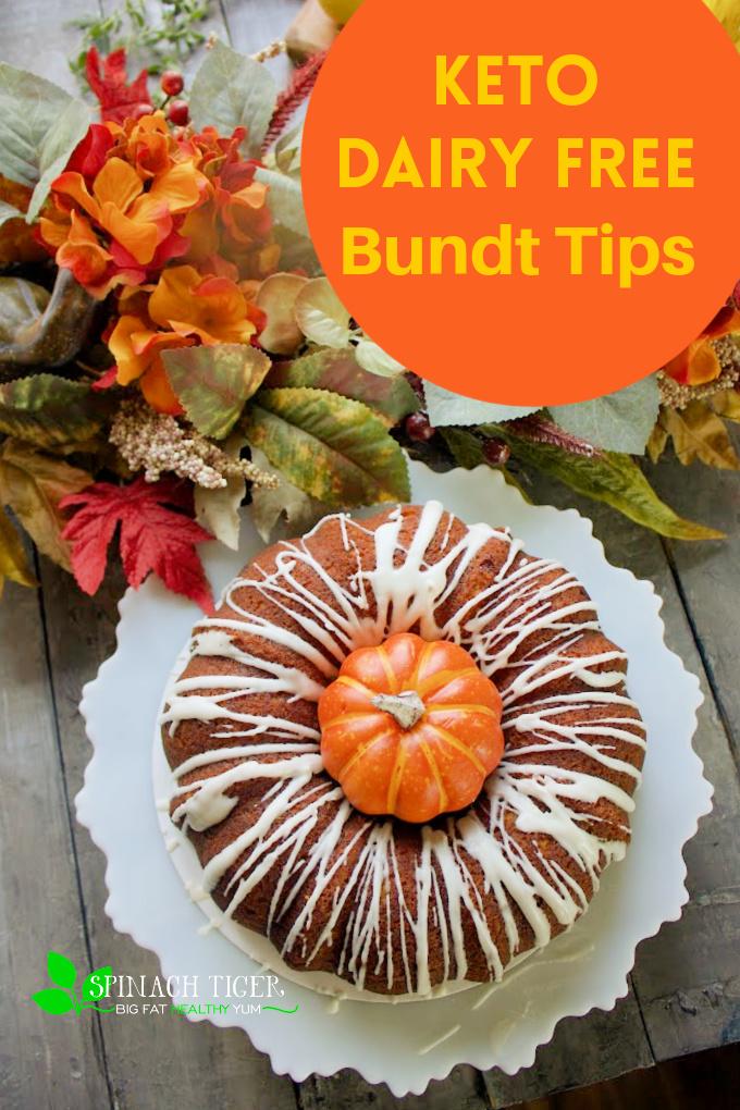 Keto Pumpkin Bundt Cake with Tips on HOW TO BAKE KETO BUNDT CAKES. TIPS from a keto bakery owner. #ketopumpkin #ketopumpkincake #pumpkinbundt #pumpkin via @angelaroberts