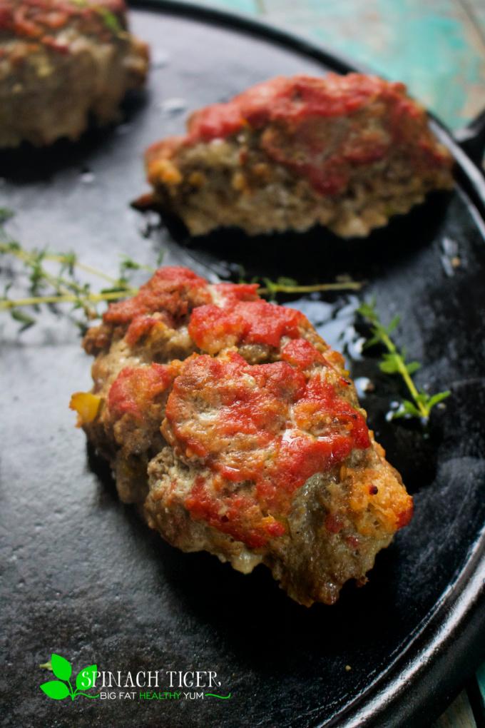 Keto Mini Meatloaf