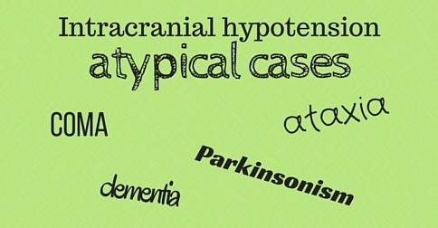 Atypical cases