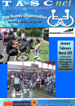Cover of The TASC Net Newsletter March 2011 - cover has 2 photos
