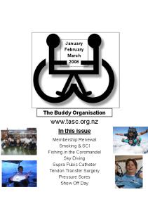 TASC newsletter March 2008