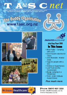 Cover of The TASC Net Newsletter September 2013- cover has 6 photos