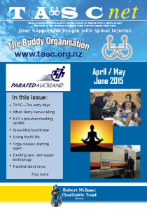 TASC Net newsletter June 2015