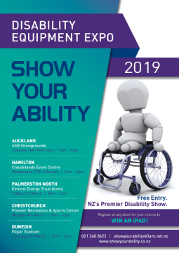 Cover of SHOW YOUR ABILITY 2019 Poster - cover has 1 photo
