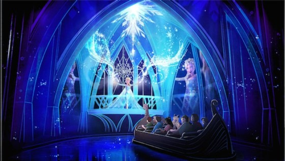 d23-expo-disney-eiskönigin-frozen-attraktion-epcot