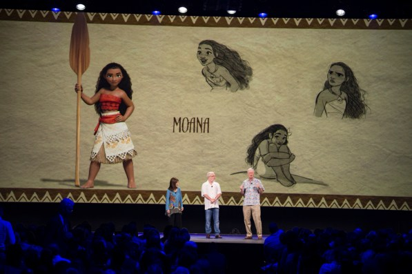 "D23 Expo 2015: Neue Artworks und Details zu Disneys Animationsfilm ""Moana"""