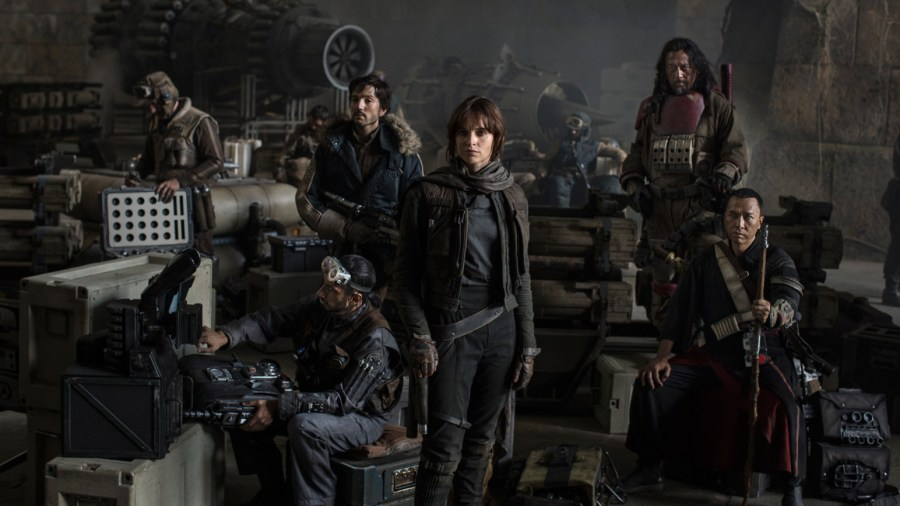 "D23 Expo 2015: Erstes Bild aus dem Star Wars Spin-off ""Rogue One"" - Cast"