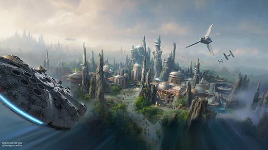 D23 Expo 2015: Star Wars Land für Disney-Themenparks angekündigt