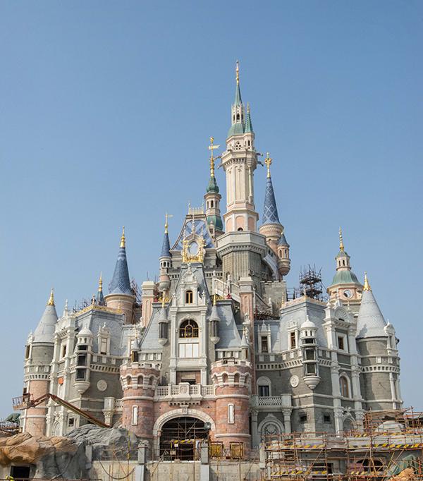 Shanghai-Disney-Resort-Schloss-storybook-Castle