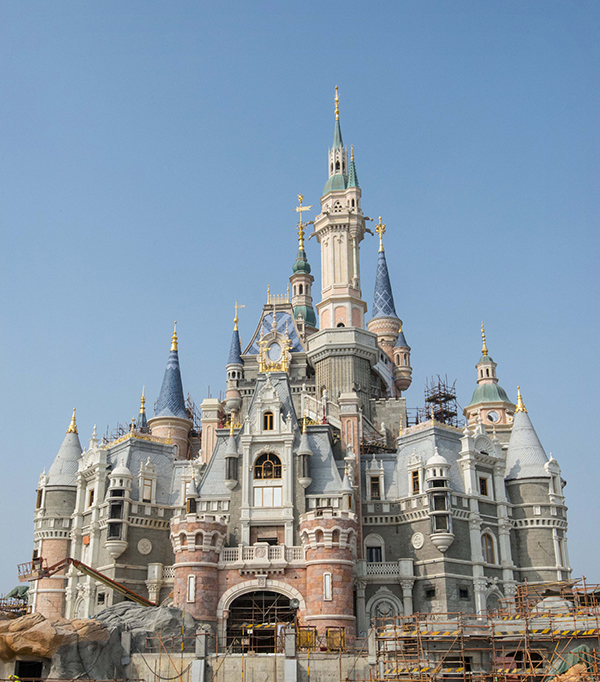 Shanghai-Disney-Resort-Schloss-storybook-Castle