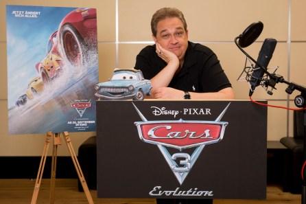 Disney, Cars 3, Oliver Kalkofe im Synchronstudio Foto: folioscope/Hanna Boussouar