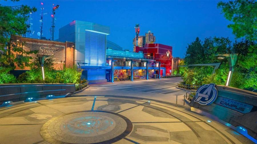 Avengers Campus in Disneyland California
