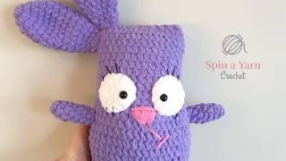 Huggable Bunny Free Crochet Pattern
