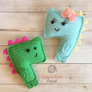 Crochet T-Rex