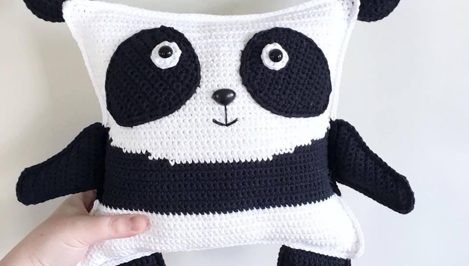 Pudgy Panda Plushie Free Crochet Pattern Spin A Yarn Crochet
