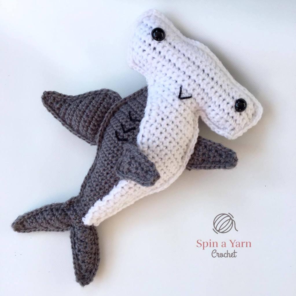 hammerhead shark crochet free pattern